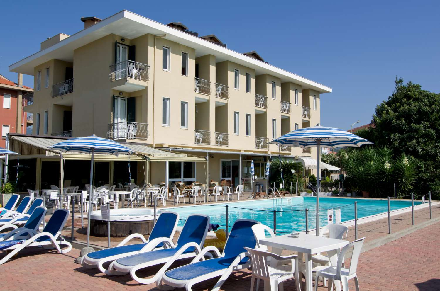 Hotel Delle Mimose Home Page